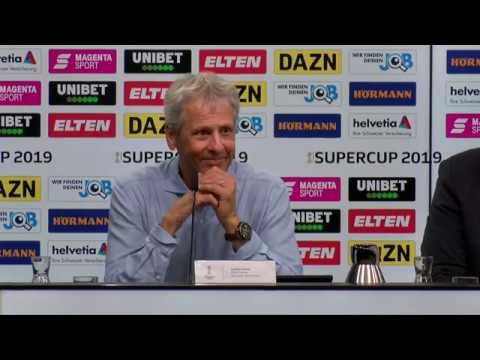 Supercup-PK mit Lucien Favre und Niko Kovac