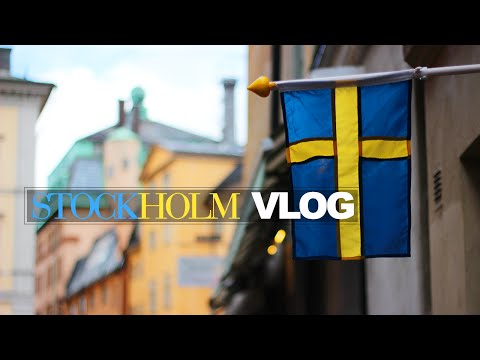 Stockholm, Sweden Vlog | THEY DO IT BETTER IN THE NORTH?