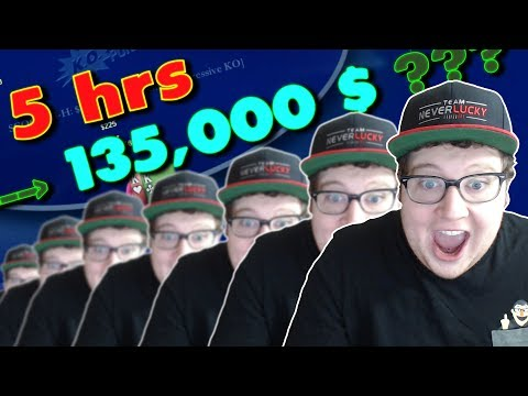 Quickest Poker Tournament Format To Win $135,000 ???