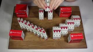 линейка двухполюсных автомат. выключателей от ElectroHouse