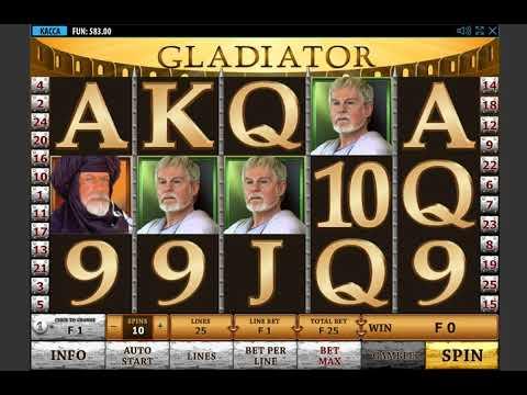 Игровой автомат GLADIATOR играть бесплатно и без регистрации онлайн