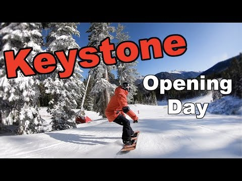 Keystone Opening Day 2019 Snowboarding! – (Season 4, Day 3)