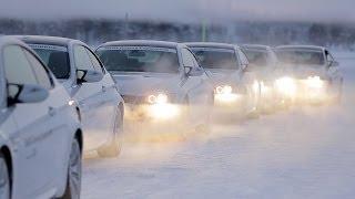 Школа вождения BMW Ice Fascination // АвтоВести 136(Самая продвинутая зимняя школа вождения от BMW за Полярным кругом. Подробный отчет: http://auto.vesti.ru/doc.html?id=506513&cid=21., 2014-01-16T11:22:43.000Z)