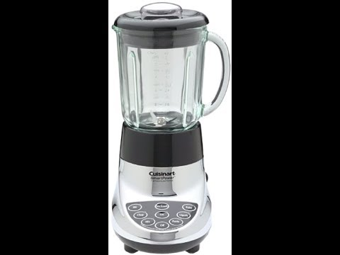 Cuisinart SmartPower Blender 40-Ounce 7-Speed Electronic Bar, Chrome SPB-7CH – Overview