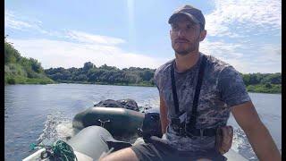 Рыбалка и отдых на реке Двина