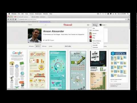 Pinterest Pin It Button - How to Install and Use