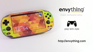 Skinning Your Sony Ps Vita  Pch-1000 With Envything Skin