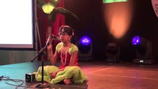 """Annamayya Keerthanalu"" by Sagar's Daughter at ITWA Ugadi 2015 -Dublin,Ireland"