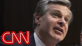 FBI director contradicts White House