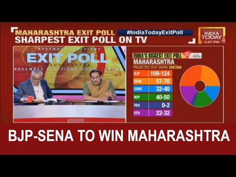BJP-Sena To Sweep The Maharastra Polls, UPA Recovers From LS Polls | #IndiaTodayExitPoll