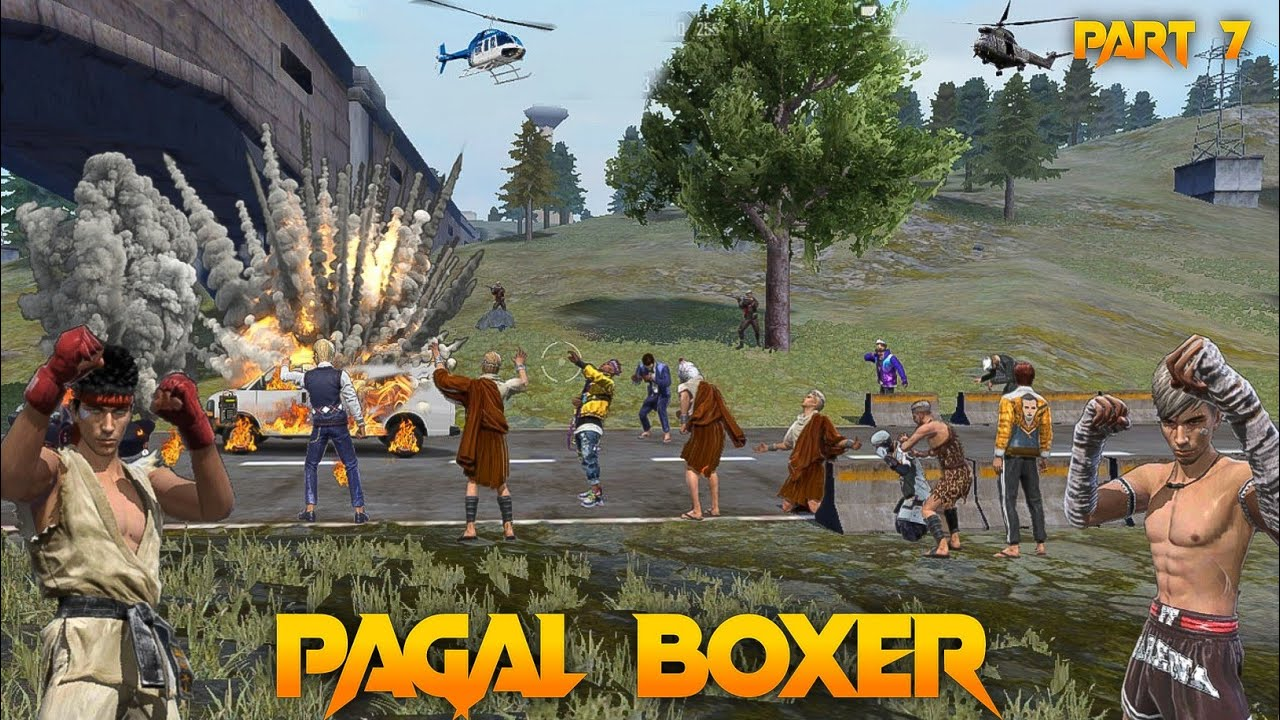 Pagal Boxer 🤼 Part 7 [पागल मुक्केबाज] Free Fire Short Emotional Story in Hindi || Free Fire Story