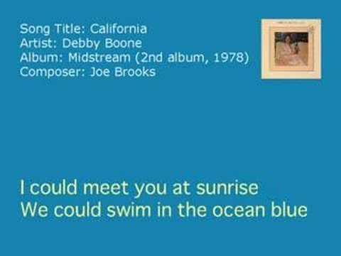 Deb Boone  California Audio
