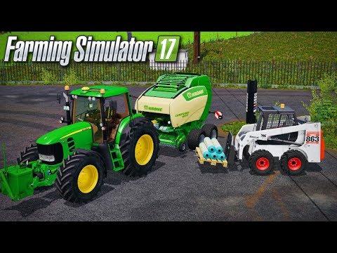 PRESSAGE COMPLIQUÉ... 😬😱 (Gamsting) - Farming simulator 17