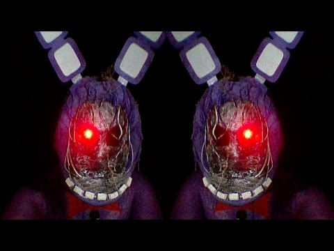 Withered Bonnie best costume test (Five nights at freddys-IMPROVED) - Rise of the machine