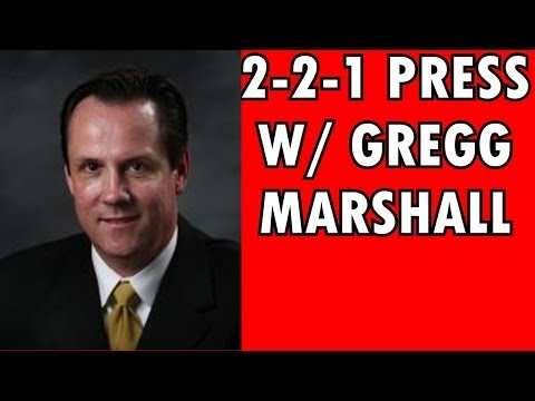 Basketball 2-2-1 Full Court Press with Gregg Marshall