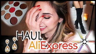 Haul Aliexpress ( palette Kylie Jenner, coulor pop, cuissarde... )