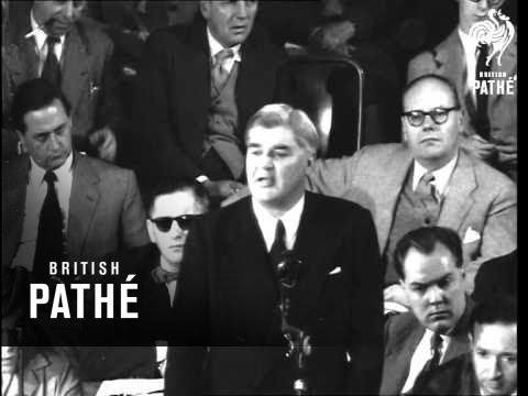 Bevan Speaks On Housing At Labour Conference (1954)