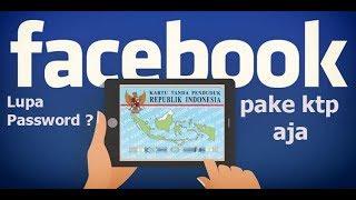 Lupa Password Facebook ?? Pulihkan Pakai KTP