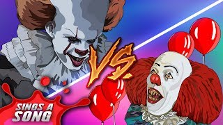 Download Old Pennywise Vs New Pennywise Rap Battle ('IT' Parody Tim Curry Vs Bill Skarsgard) Mp3 and Videos