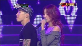 Repeat youtube video NS윤지&박재범_If you love me(If you love me by NS YoonG & Jay Park @Mcountdown 2012.11.01)