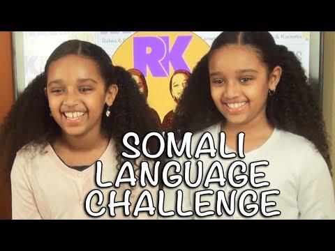 SOMALI LANGUAGE CHALLENGE BY RK TWINS