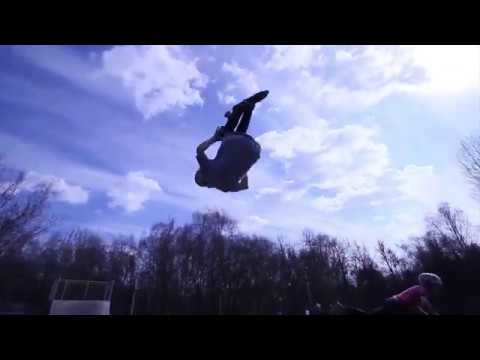 Dima Bogdanov \ mini video from Kuzminki \ KickScooterShop \ Scootering \ AdnreevPROD