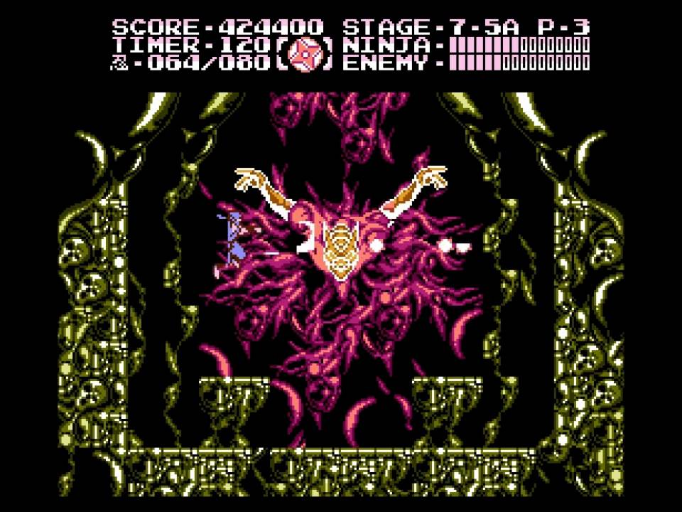 Ninja Gaiden Iii Nes Final Bosses Youtube
