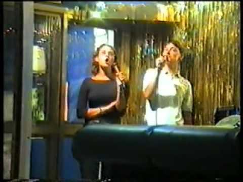 Stand By Me (Karaoke) - Ian and Salene (Malaga, Spain 1999)