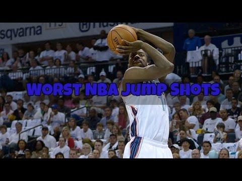 TOP 5 WORST NBA JUMP SHOTS!!!!!