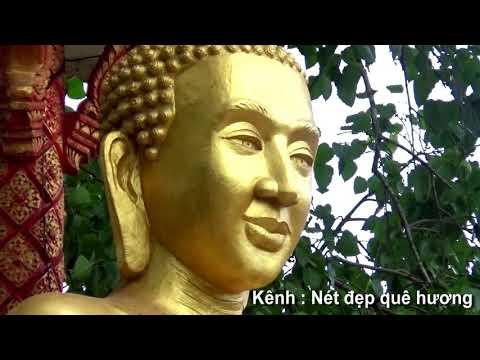 Đất nước và con người : Chùa khmer Trà Cú và ngôi làng Ngãi Xuyên đối diện chùa, Trà Vinh 30/01/2021