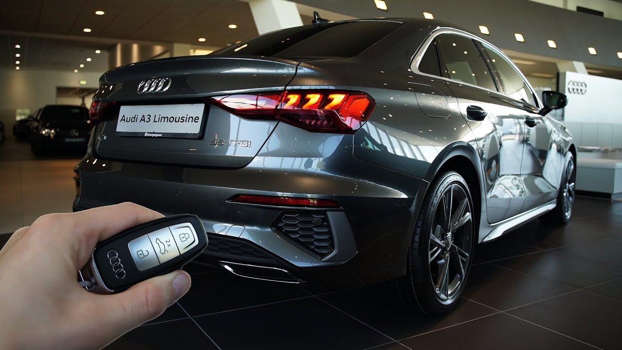2021 Audi A3 Sedan (150hp) - Sound & Visual Review! - YouTube
