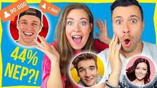Aantal NEPPE VOLGERS van YouTubers RADEN!!! 😱