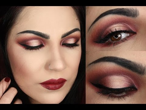 abh modern renaissance halo cut crease makeup tutorial