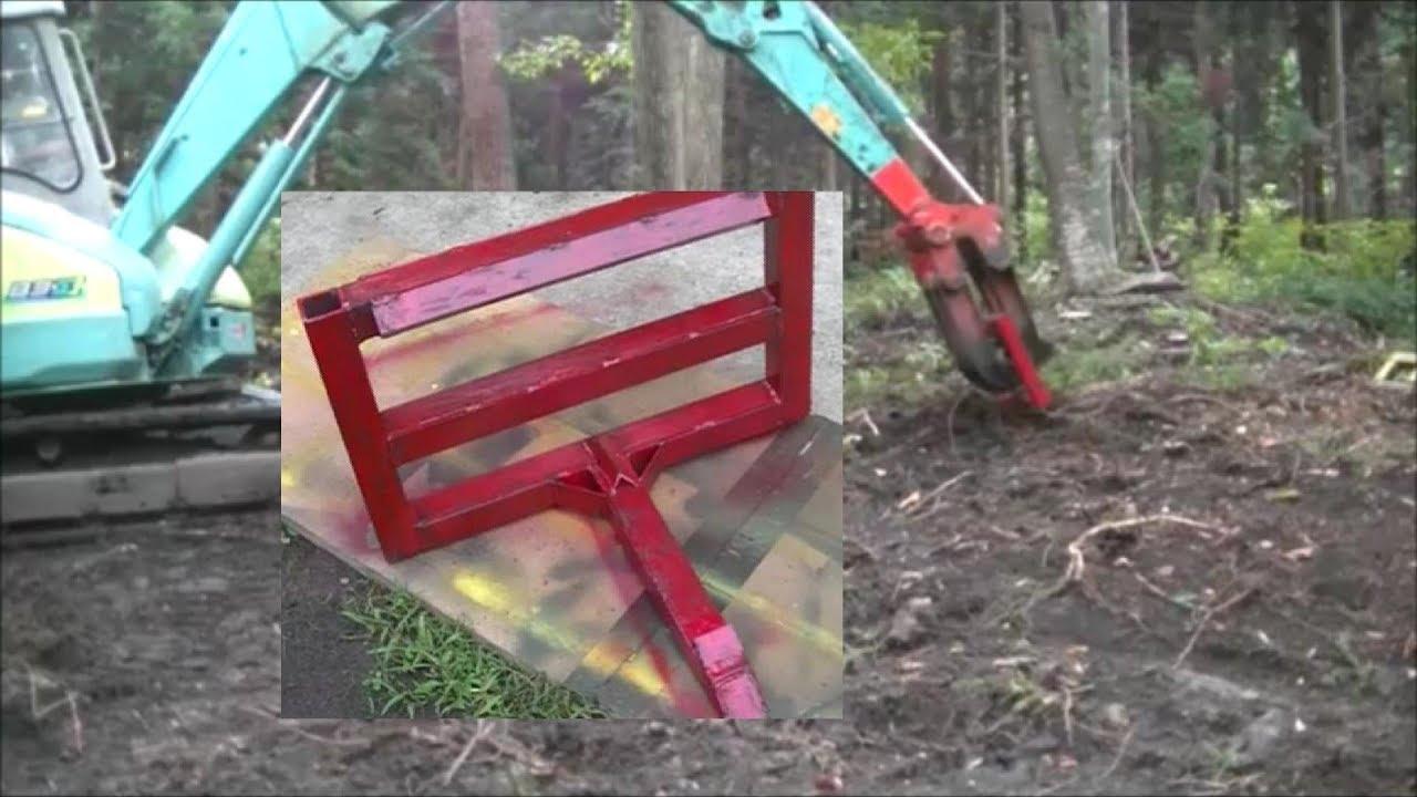 mini excavator grappler attachment