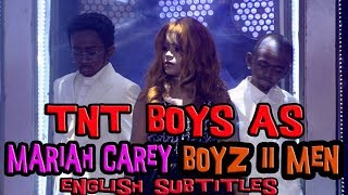 with english subtitles tnt boys as mariah carey boyz ii men one sweet day yfsf kids 2018