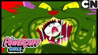 Bubbles Gets Eaten! | Powerpuff Girls | Cartoon Network