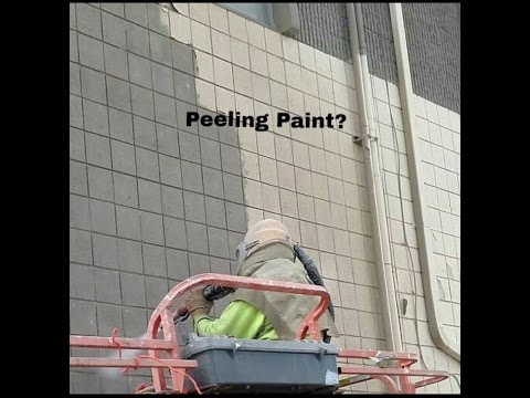 Building Restoration. Paint Removal Specialist (Watch Video) Brick, block, cement, wood, steel
