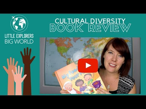"""Cultural Diversity Children's Book Review: """"My Food, Your Food"""""""