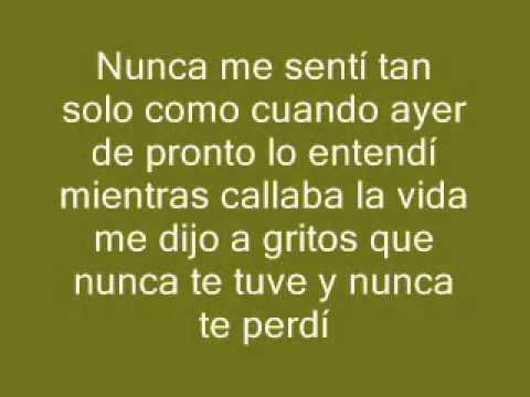 Sin Bandera - Que Lloro Lyrics | MetroLyrics