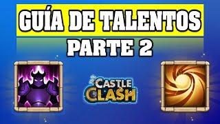 Guía de Talentos 2019 ► Castle Clash   Castillo Furioso 🔥 thumbnail