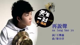 王櫟鑫《再說聲 sa lang hae yo》Official Audio