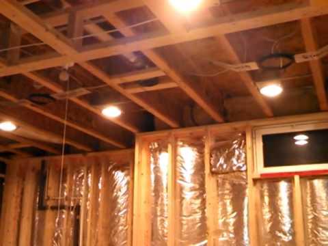 prewire basement youtube rh youtube com Basement Electrical Wiring Basement Electrical Wiring