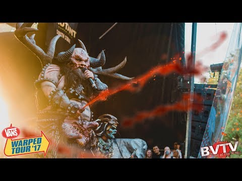 GWAR  If You Want Blood Youve Got It ! @ Warped Tour 2017