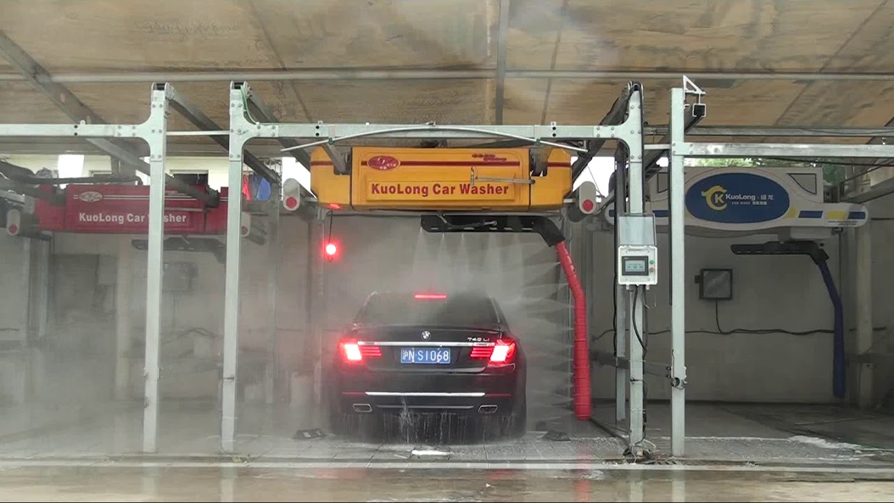 360degree Full Swing No Brush Car Wash Machine Video 经典型
