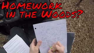 Doing Homework in the Woods???