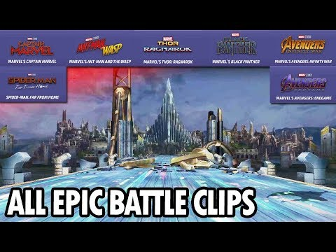 Download All Epic Battle Clips From Movie Legendary Battle - MARVEL Future Fight