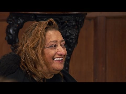 Dame Zaha Hadid | Full Q&A | Oxford Union