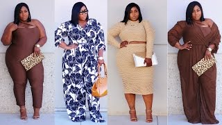 PLUS SIZE LOOKBOOK 2017 | FT. RUE 107