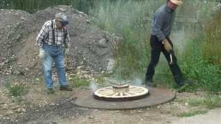 Making A Wooden Carriage Wheel Pt3