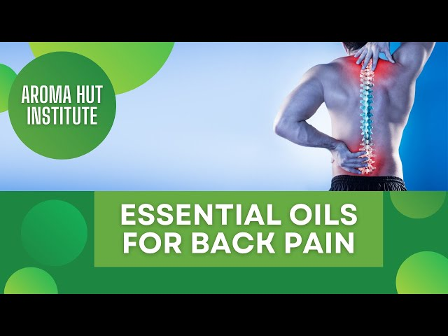 Essential Oils for Back Pain | How to Alleviate Lower Back Pain